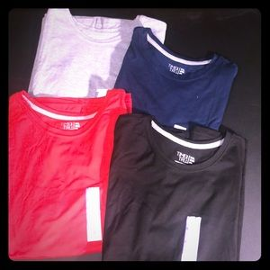 4 NEW Time and Tru Crew Neck Tees Size 2X - 20